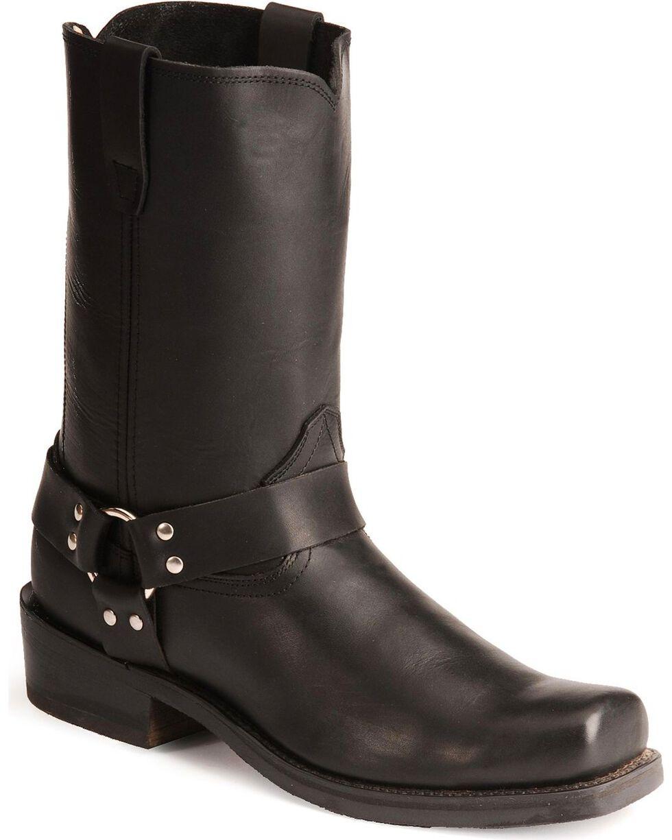 Durango Men's Harness Motorcycle Boots, Black, hi-res