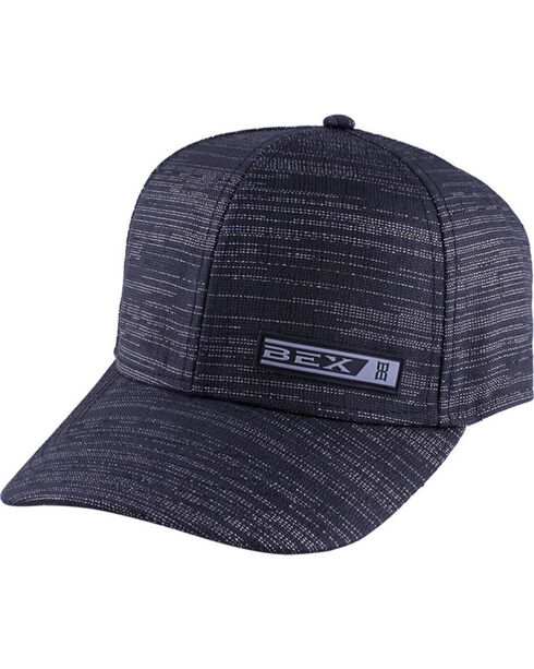BEX Women's Metallic Glitz Ball Cap, Black, hi-res