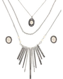 Shyanne® Women's Aztec Inspired Waterfall Jewelry Set, , hi-res