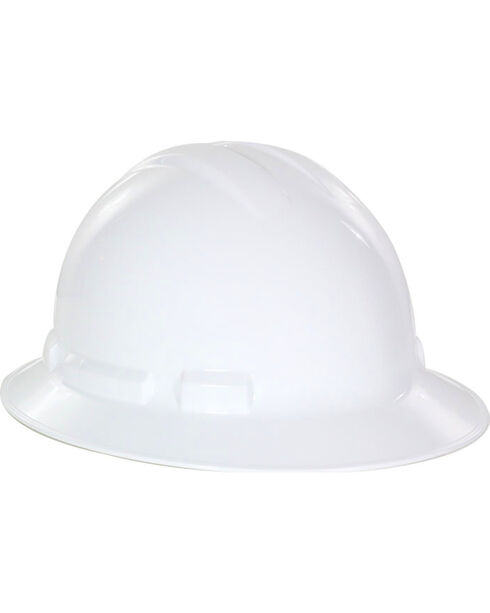 Radians White Quartz Full Brim Hard Hats , White, hi-res