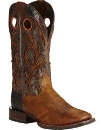 Ariat Copper Barstow Cowboy Boots - Square Toe, , hi-res