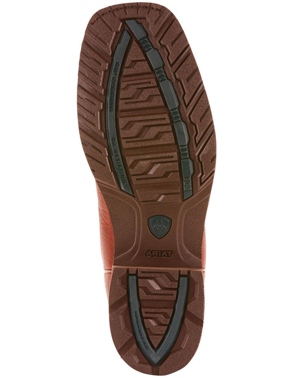 Ariat Men's Brown Hybrid Rancher H20 400G Boots - Square Toe , Brown, hi-res