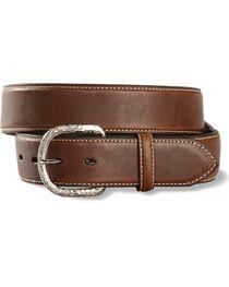 Nocona Brown Basic Belt - Reg & Big, , hi-res