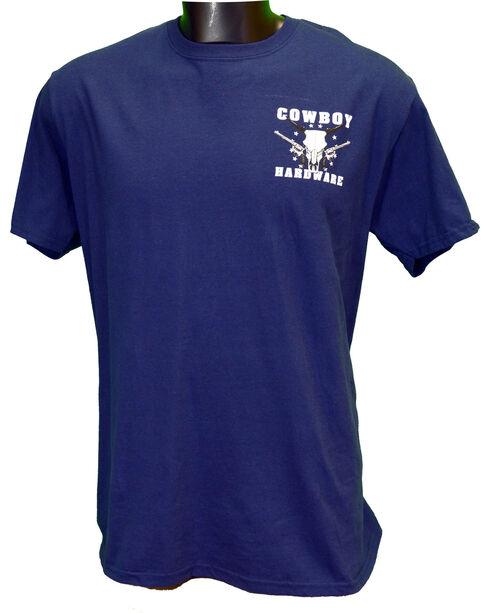 Cowboy Hardware Men's Country Brave Short Sleeve Tee, Navy, hi-res