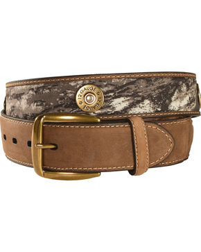 Nocona Outdoors Men's Camo Shotgun Shell Belt, Mossy Oak, hi-res