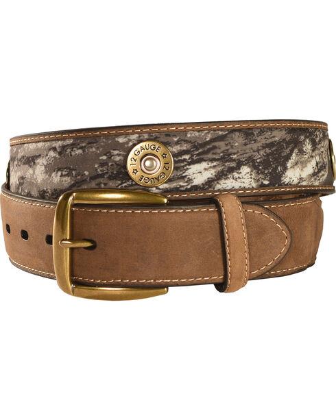 Nocona Outdoors Men's Camo Shotgun Shell Belt, Mossy Oak, hi-res