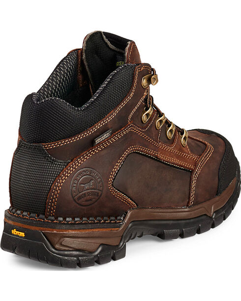 Red Wing Irish Setter Two Harbors brown Hiker Work Boots - Soft Toe , Brown, hi-res