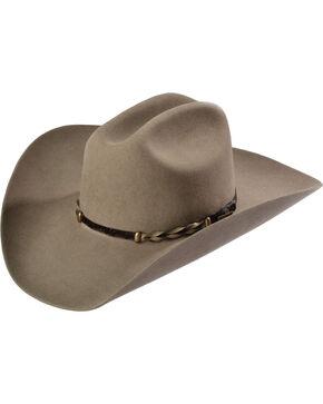 Stetson Portage 4XXXX Buffalo Fur Felt Hat, Stone, hi-res