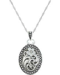 Montana Silversmiths Women's Stitched In Wilderness Necklace, , hi-res