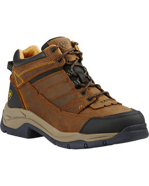Ariat Men's Terrain Pro Hiking Shoes, Bison, hi-res