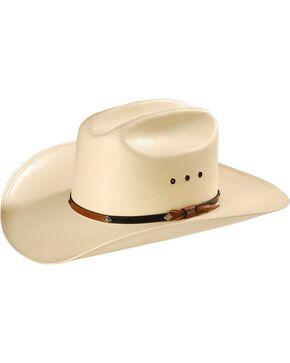Stetson Hats Men's Grant Straw Hat, Natural, hi-res
