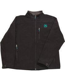 Hooey Men's Black Soft Shell Fleece Lined Jacket , , hi-res