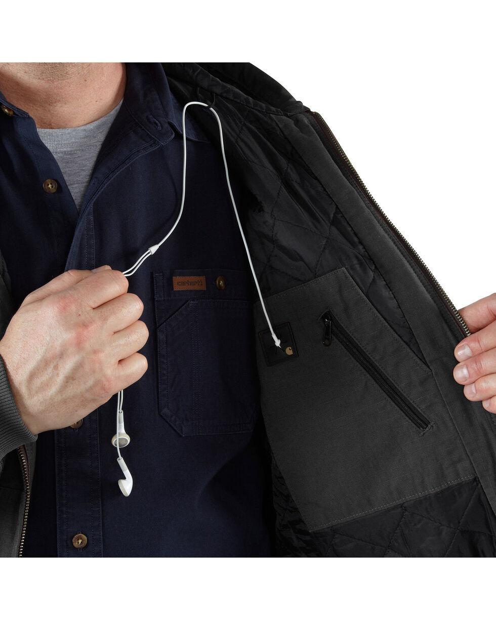 Carhartt Men's Tennessee Ripstop Active Jacket, Black, hi-res
