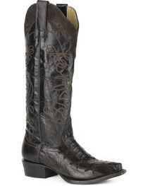 Stetson Women's Georgia Caiman Western Boots - Snip Toe, , hi-res