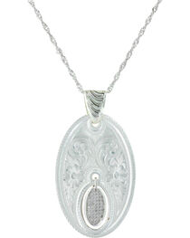 Montana Silversmiths Women's Silver The Fairest One Of All Necklace, , hi-res