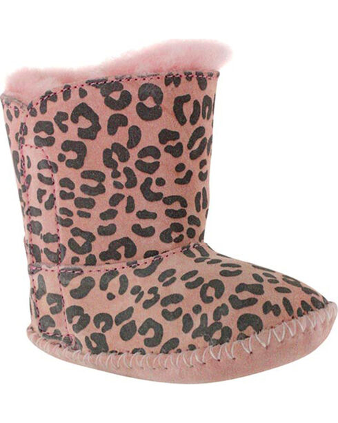 UGG® Cassie Infant Booties, Pink, hi-res