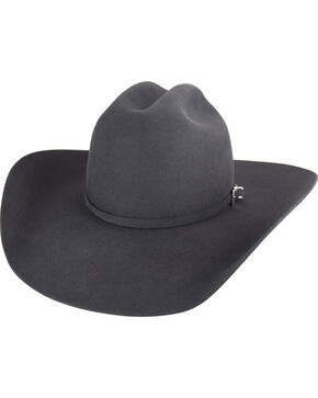 Bailey Men's Steel Pro 5X Wool Felt Cowboy Hat , Steel, hi-res