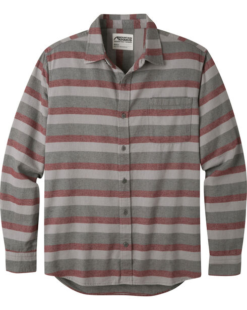 Mountain Khakis Men's Malbec Fall Line Flannel Shirt , Burgundy, hi-res