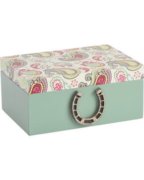 BB Ranch Paisley Trinket Box, No Color, hi-res