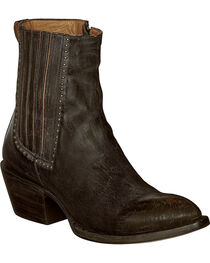 Lucchese Women's Adele Distressed Western Booties, , hi-res
