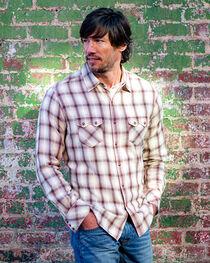 Ryan Michael Men's Sonora Desert Plaid Shirt , , hi-res