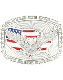 M&F Men's Crumine God Bless America Belt Buckle, , hi-res