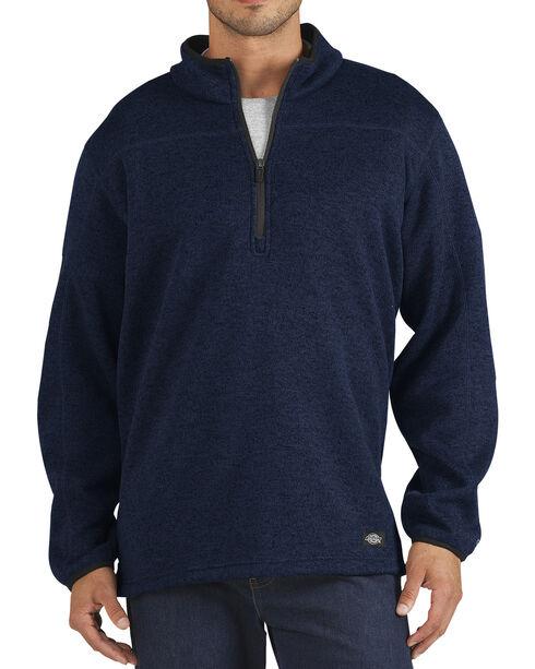 Dickies Work Tech Water-Repellent Fleece Pullover, Dark Blue, hi-res