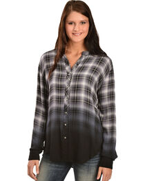 White Crow Women's Hour of Darkness Dip-Dye Shirt, , hi-res