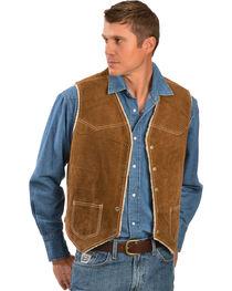 Scully Men's Boar Suede Hunting Vest, , hi-res