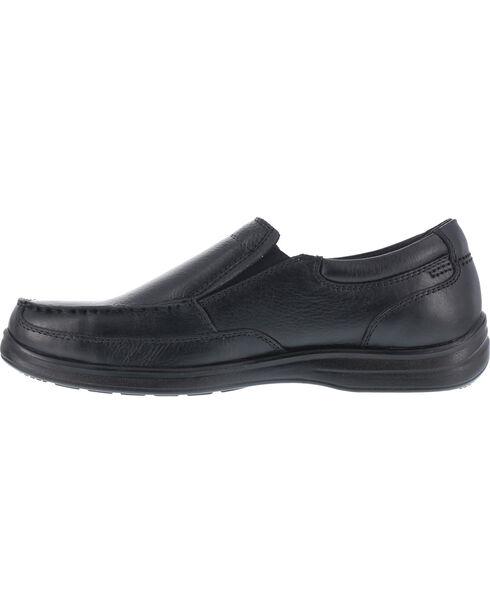 Florsheim Men's Slip-On Dress Shoes - Steel Toe , Black, hi-res