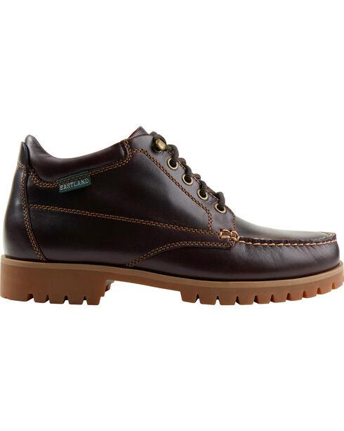 Eastland Men's Burgundy Brooklyn Ankle Boots , Burgundy, hi-res