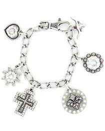Blazin Roxx Western Charm Bracelet, , hi-res