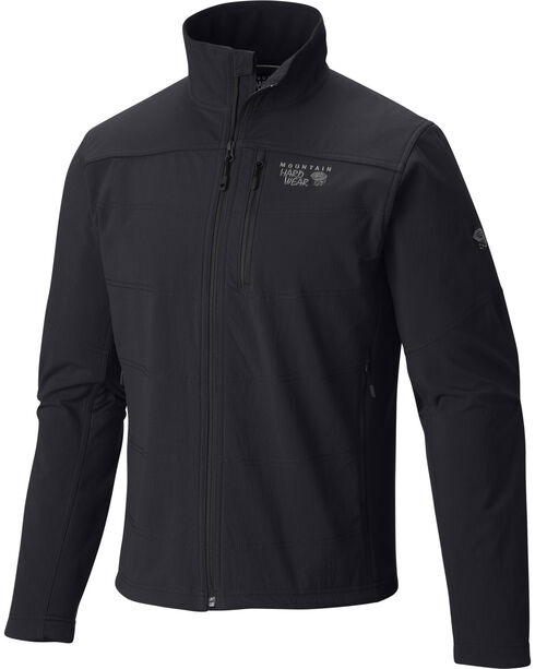 Mountain Hardwear Men's Ruffner Hybrid Jacket, Black, hi-res