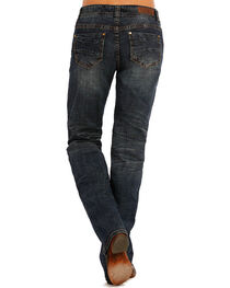 Rock & Roll Cowgirl Women's Classic Riding Jeans, , hi-res