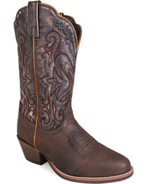Smoky Mountain Women's Brown Fusion #1 Western Boots - Round Toe , , hi-res