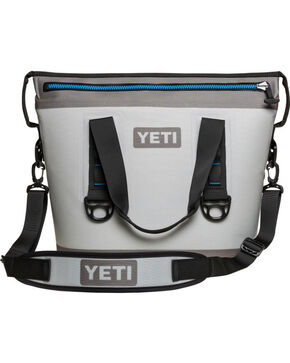 Yeti Grey Hopper Two 20 Softside Cooler , Grey, hi-res