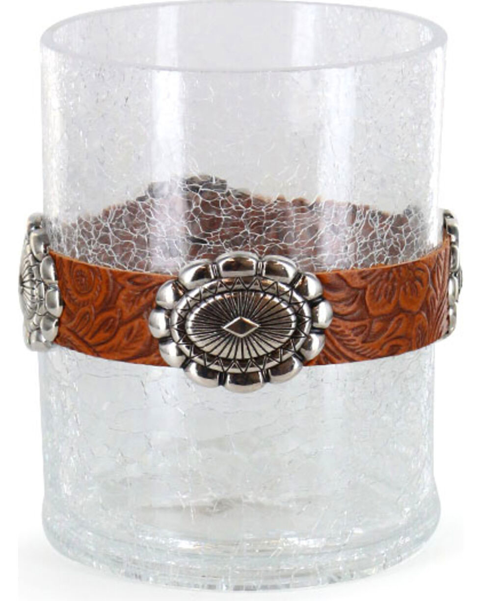BB Ranch® Western Concho Candle Holder, No Color, hi-res