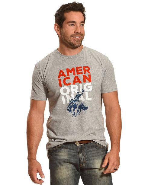 Cody James® American Original T-Shirt, Heather Grey, hi-res