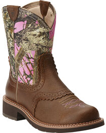 Ariat Women's Fatbaby Heritage Performance Riding Boots, , hi-res