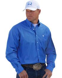 Cinch Solid Blue Shirt, , hi-res