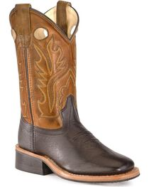 Old West Toddlers' Corona Cowboy Boots - Square Toe, , hi-res