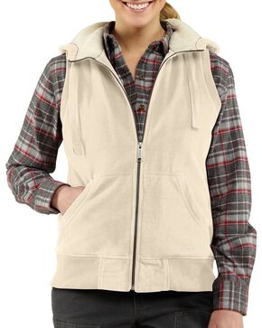 Carhartt Women's Stockbridge Vest, White, hi-res
