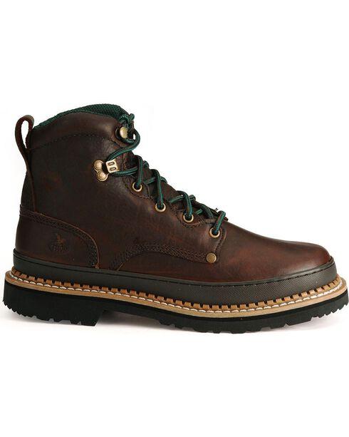 Georgia Men's Georgia Giant Steel Toe Work Boots, Brown, hi-res