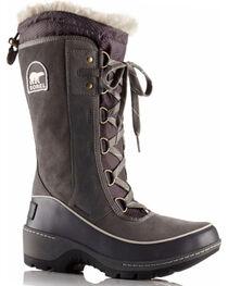 Sorel Women's Grey Tivoli III Waterproof Fleece Lined Boots - Round Toe, , hi-res