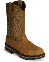 Laredo Men's Sullivan Waterproof Western Work Boots, , hi-res