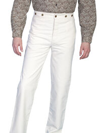 Scully Men's Canvas Pants, Natural, hi-res