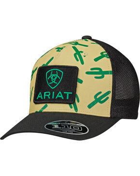 Ariat Cactus Mesh Cap, Black, hi-res
