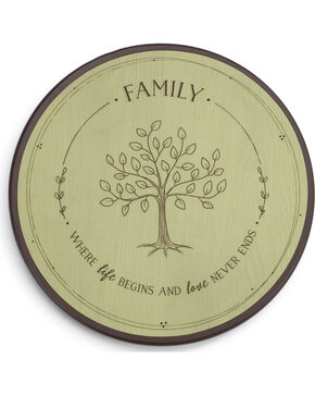 Demdaco Light Green Family Tree Lazy Susan , Light Green, hi-res