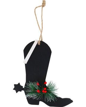 BB Ranch® Chalkboard Boot Ornament , No Color, hi-res