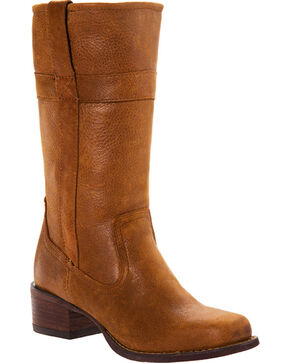 Durango Women's Charlotte Western Fashion Boots, Distressed Brown, hi-res